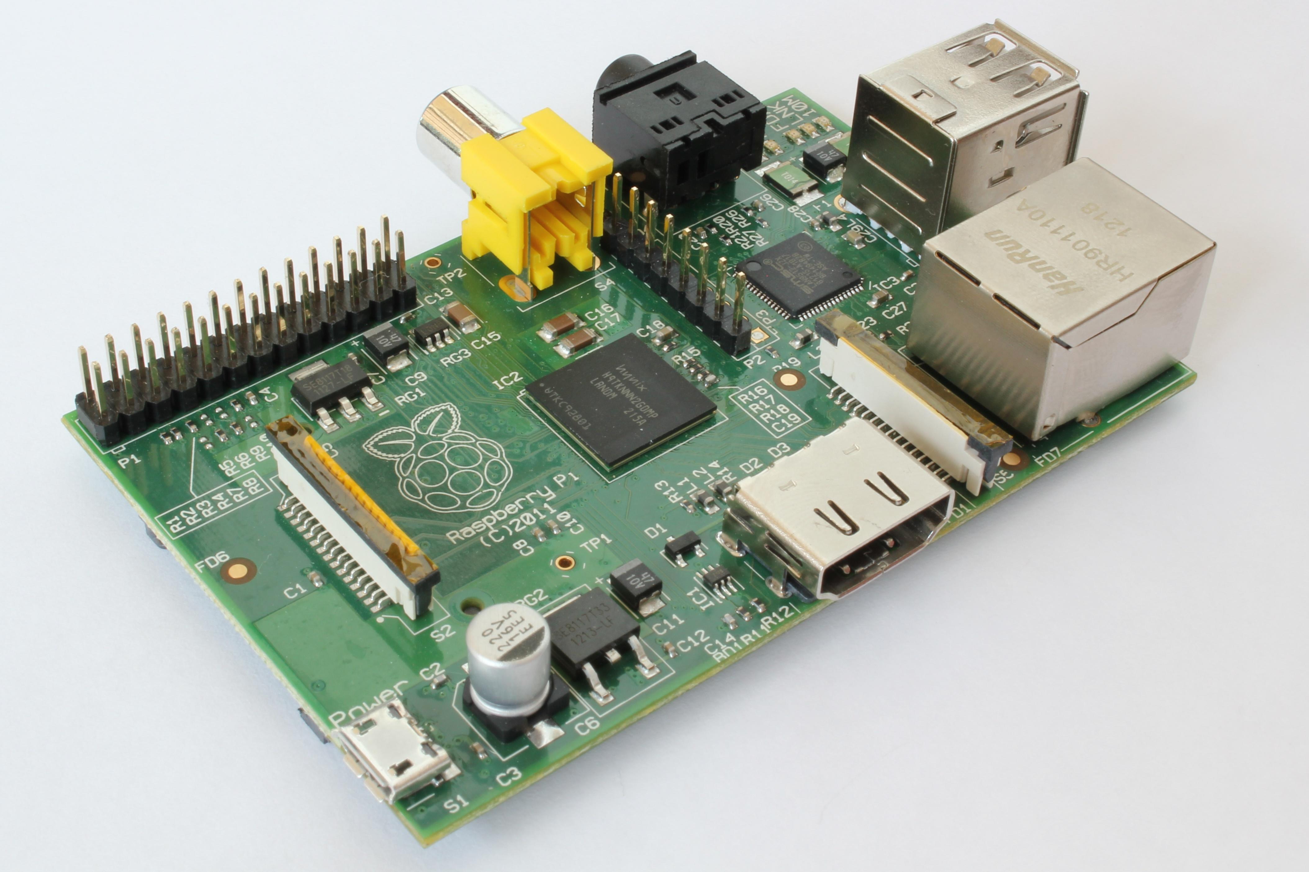 Raspberry Pi with ports